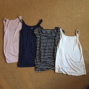 Lot 4 Old Navy Maternity Tops